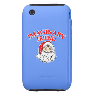 Imaginary Friend Santa Claus iPhone 3 Tough Covers