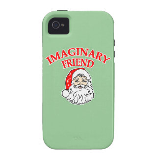 Imaginary Friend Santa Claus Case-Mate iPhone 4 Covers