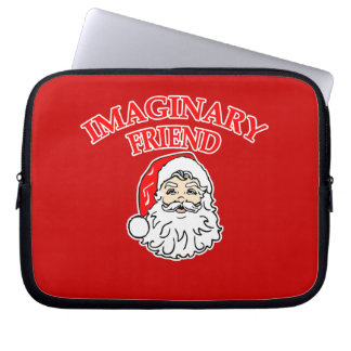 Imaginary Friend Santa Claus Laptop Computer Sleeves