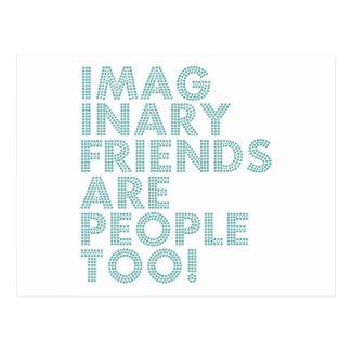 IMAGINARY FRIENDS POSTCARD