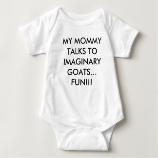 Imaginary Goats, Mommy - Baby Bodysuit