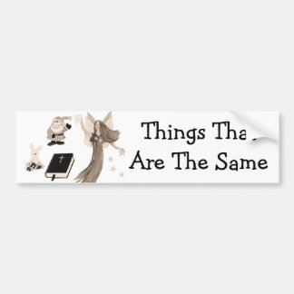 Imaginary Playthings Bumper Sticker
