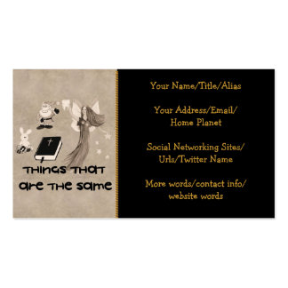Imaginary Playthings Pack Of Standard Business Cards