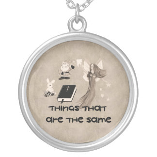Imaginary Playthings Round Pendant Necklace