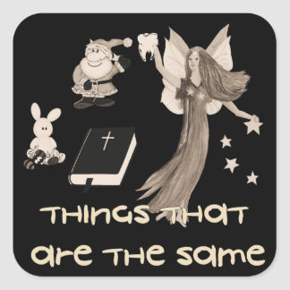 Imaginary Playthings Square Sticker
