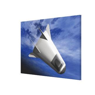 Imaginary Spacecraft Canvas Print