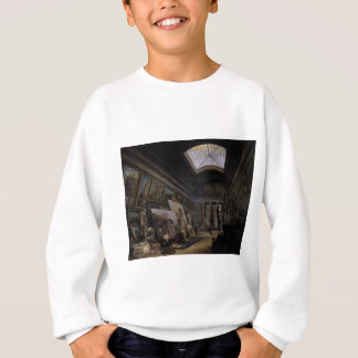 Imaginary View of the Grande Galerie in the Louvre Sweatshirt