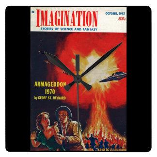 Imagination _ 10-1952_Pulp Art Wallclocks