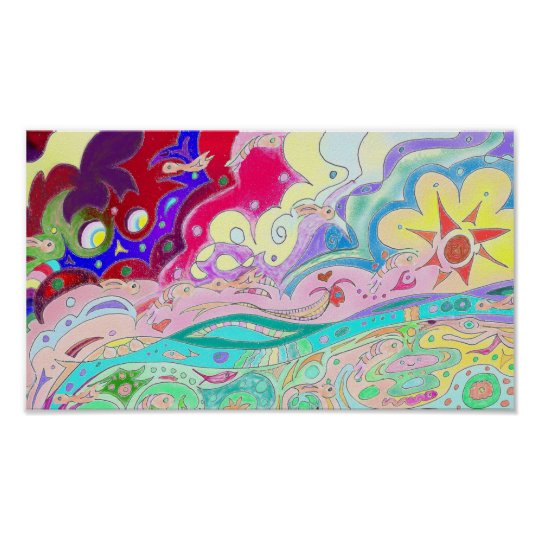 """Imagination Art Poster - Extra Small (8"""" x 14"""")"""