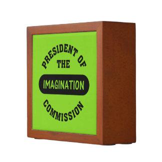 Imagination Commission President Pencil Holder