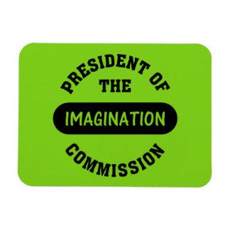 Imagination Commission President Rectangular Photo Magnet