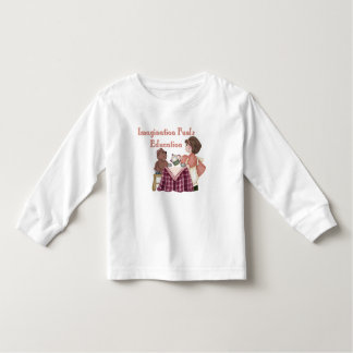 Imagination Fuels Education (teaparty) Toddler T T-shirt