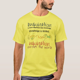Imagination, more important the an knowledge T-Shirt