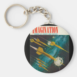 Imagination _ Vol. 04 Nr. 06_Pulp Art Basic Round Button Key Ring