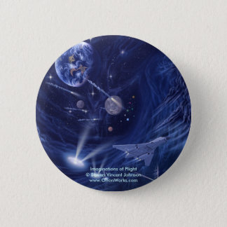 Imaginations of Flight, Imaginations of Flight... 6 Cm Round Badge