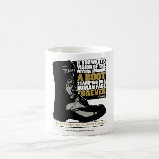 Imagine a Boot Classic White Coffee Mug