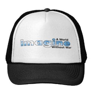 Imagine a World Without War Mesh Hats