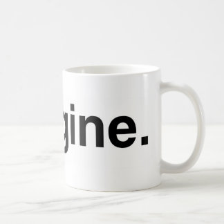 Imagine Basic White Mug