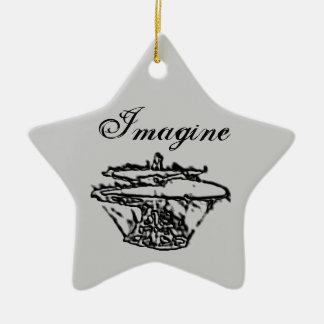 Imagine & Believe Ornament