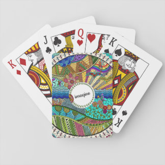Imagine (coloured) playing cards
