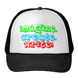 Imagine! Create! Write! Cap
