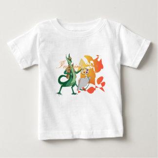 """Imagine"" Dragon Painter Baby T-Shirt"