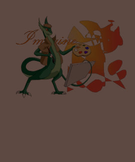 """Imagine"" Dragon Painter Tees"