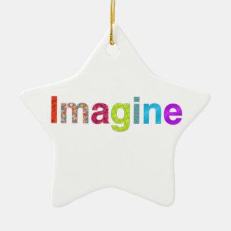 Imagine fun colorful inspiration gift christmas ornament