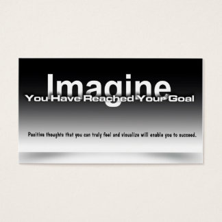 Imagine Goal Card