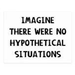 Imagine Hypothetical Postcard