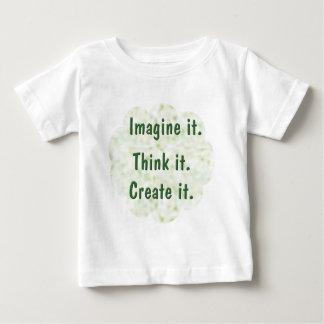 Imagine It Baby T-Shirt