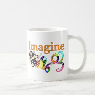Imagine Mermaid Basic White Mug