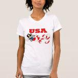 Imagine Mermaid USA Tee Shirts