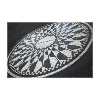 Imagine Mosaic Canvas Print