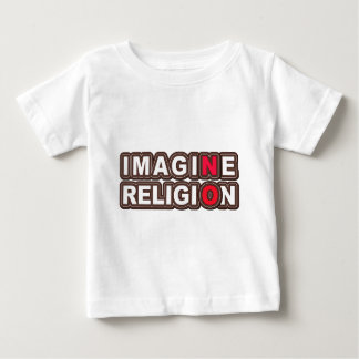 Imagine No Religion Baby T-Shirt