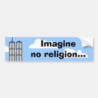 Imagine No Religion... Bumper Sticker