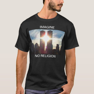 Imagine, No Religion Dark T T-Shirt