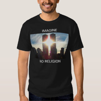 Imagine, No Religion Dark T T Shirts