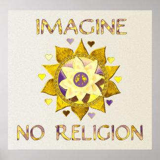 Imagine No Religion Poster