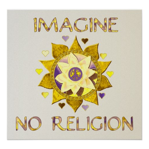 Imagine No Religion Print