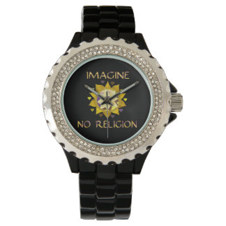 Imagine No Religion Wrist Watch
