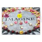 Imagine Peace Card