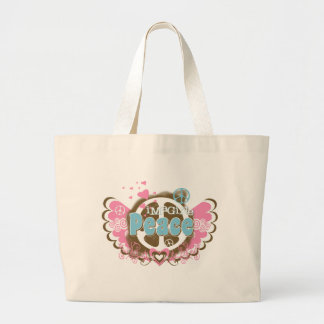 Imagine Peace Jumbo Tote Bag