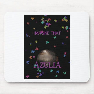 Imagine That Butterfly Mouse Pad
