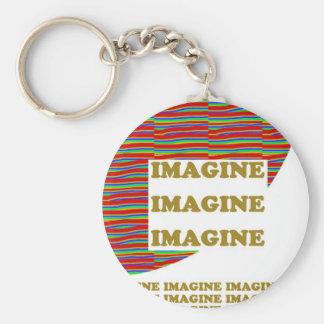 IMAGINE : Wisdom  Motivation Inspiration LOWPRICE Key Chain