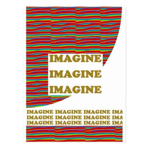 IMAGINE : Wisdom  Motivation Inspiration LOWPRICE Post Card