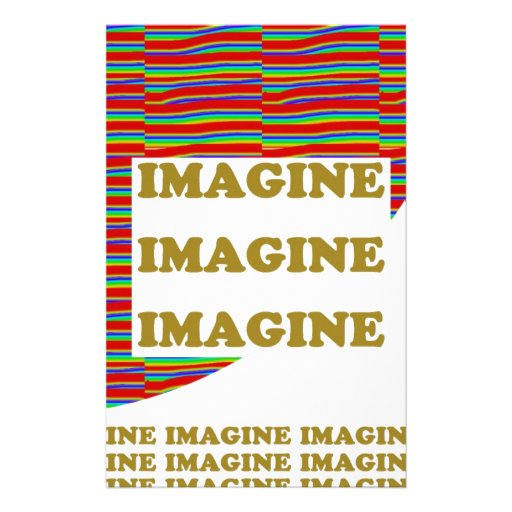 IMAGINE : Wisdom  Motivation Inspiration LOWPRICE Customized Stationery