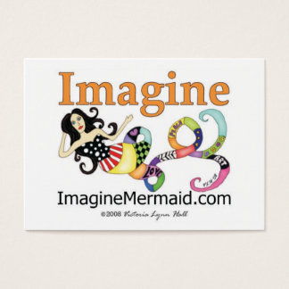 ImagineMermaid.com Imagine Mermaid Business Cards