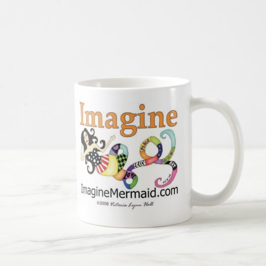 ImagineMermaid.com promotional Coffee Mug