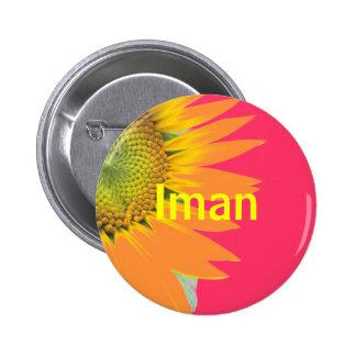 Iman 6 Cm Round Badge